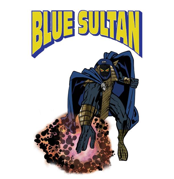 Blue Sultan